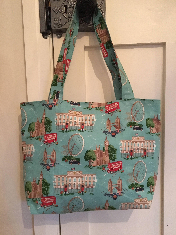 Cath Kidston London Print Fabric Bag Birthday Gift Tote