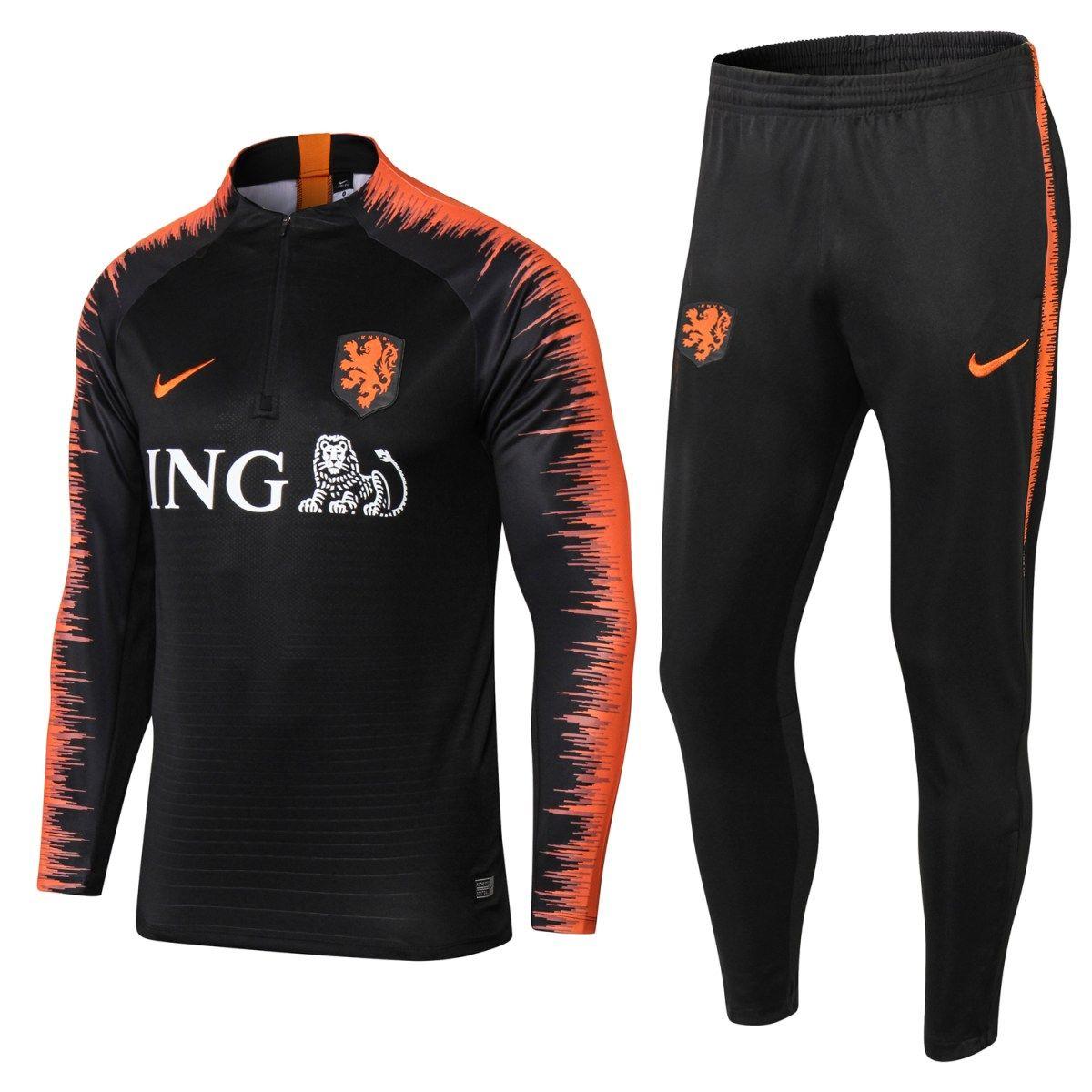 Agasalho de Treino Seleção Holandesa 18 19  fe2b5f06a2902