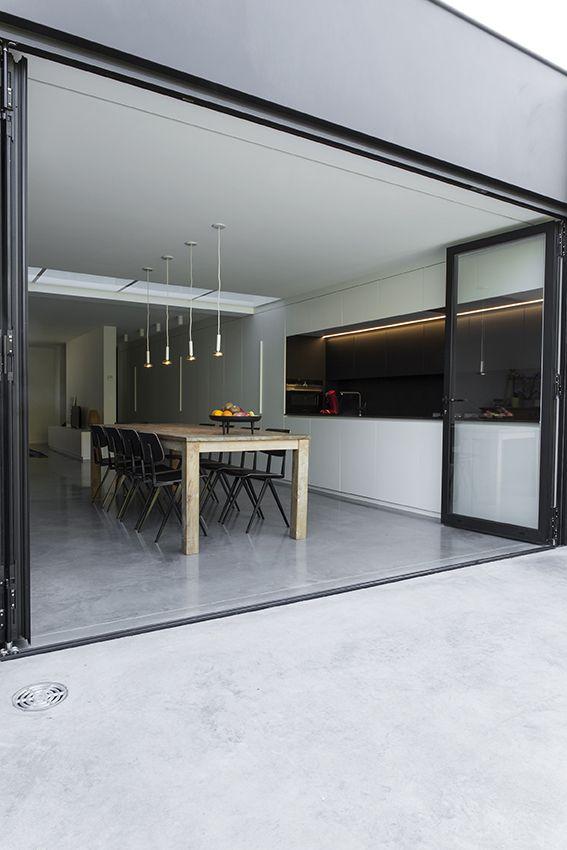 Doorlopende polybeton foto annemie van roey 1518vand idee nbus pinterest keuken - Amenager kleine keuken ...