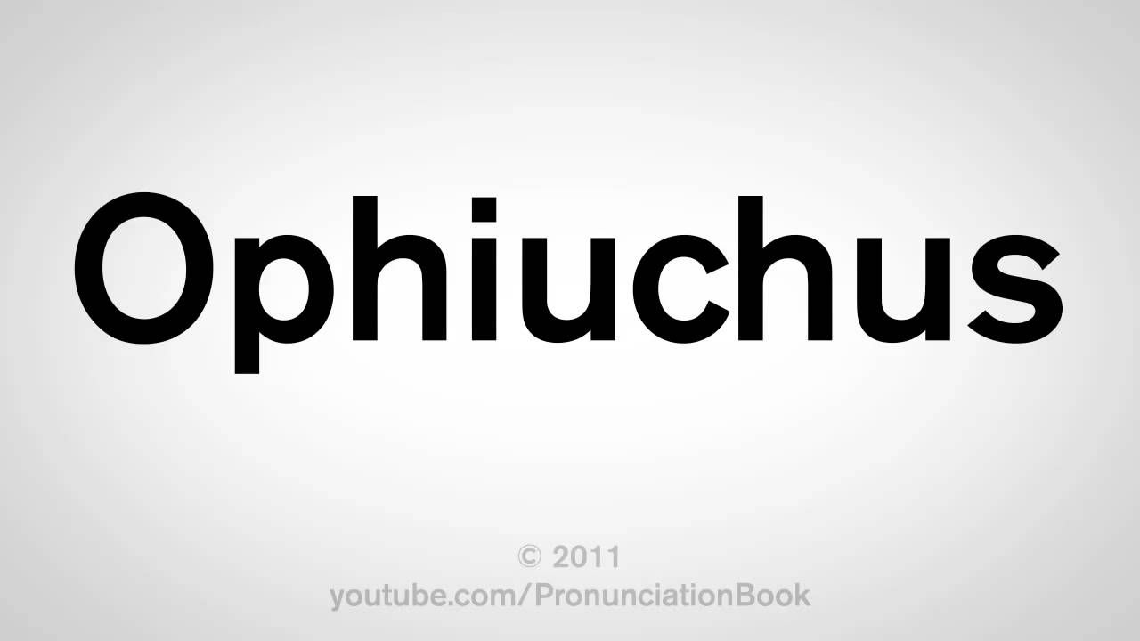 How To Pronounce Ophiuchus How To Pronounce New Zodiac Signs New Zodiac
