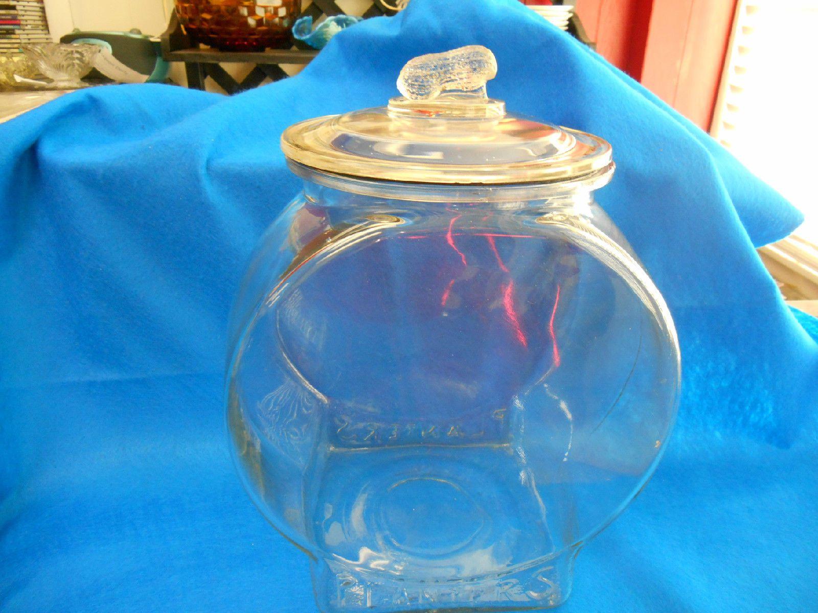 Vintage Planters Peanut Glass Jar Ebay Vintage Planters Planters Peanuts Glass Jars