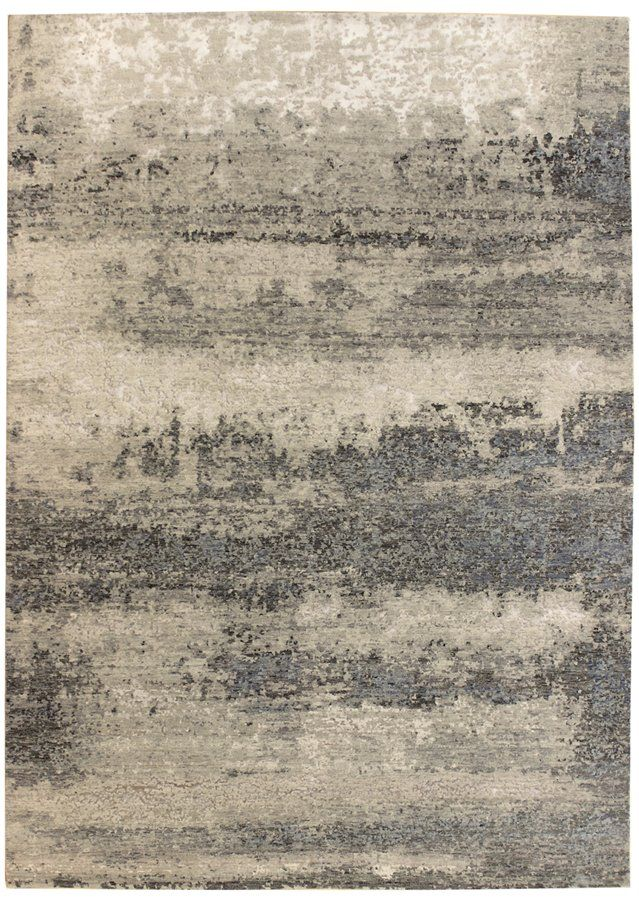 tissage: innovative rugs gallery: patinated-look rug, organic