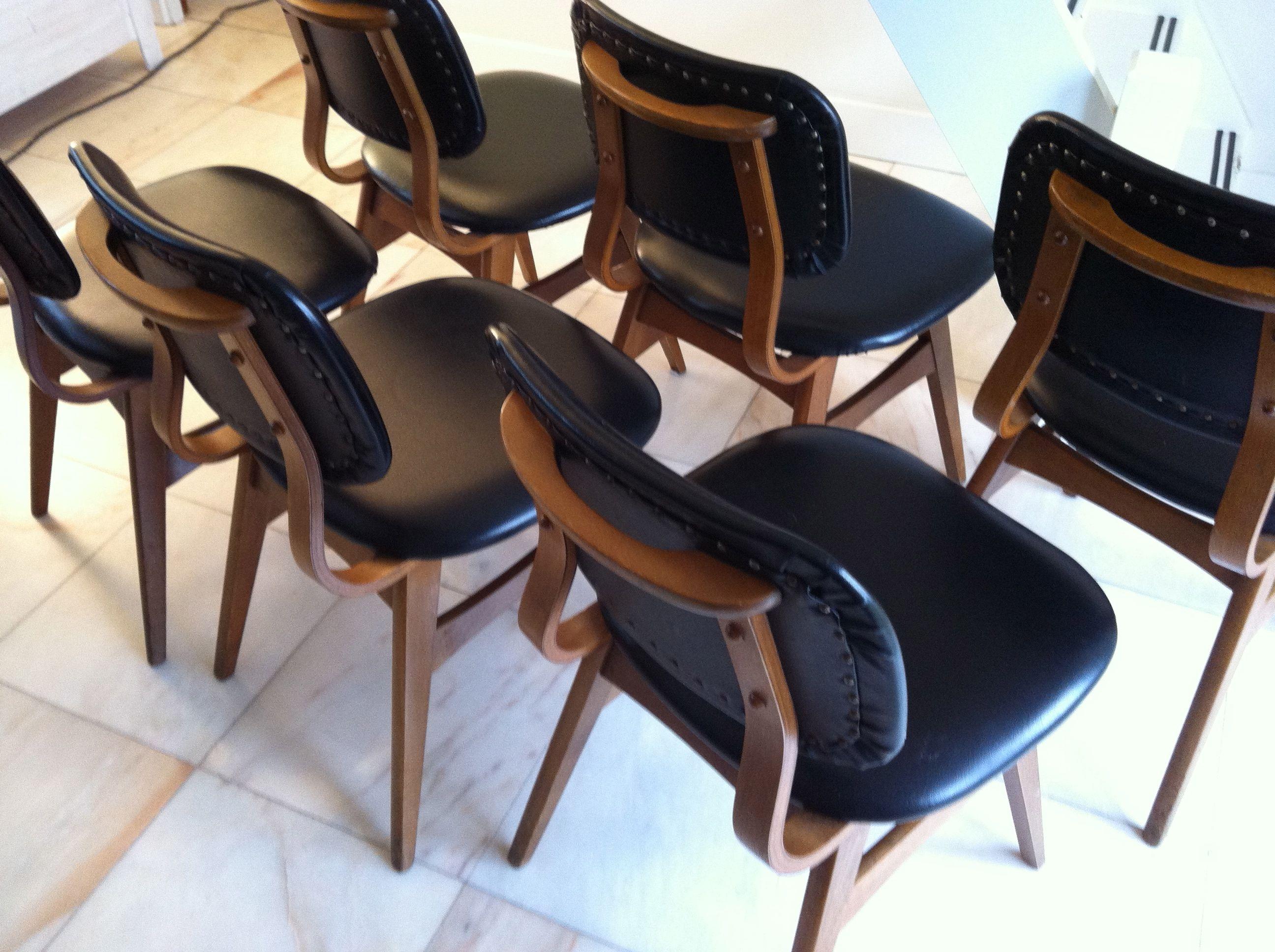 Vintage eetkamerstoelen stoelen dining chairs kees woonkamer