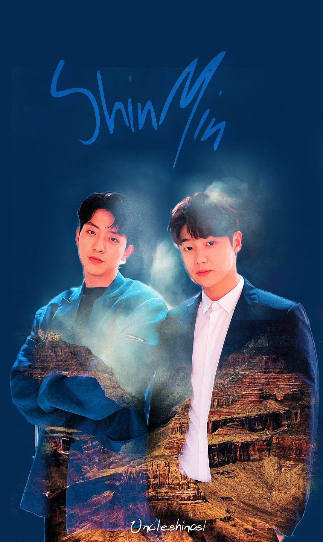 Cnblue Maknae Min Hyuk Jung Shin Wallpaper