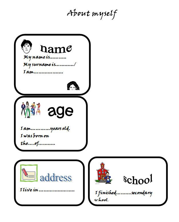 About Myself Introduction Worksheet Kindergarten Worksheets Kindergarten Phonics Worksheets Counting Worksheets For Kindergarten Self introduction worksheet for kindergarten