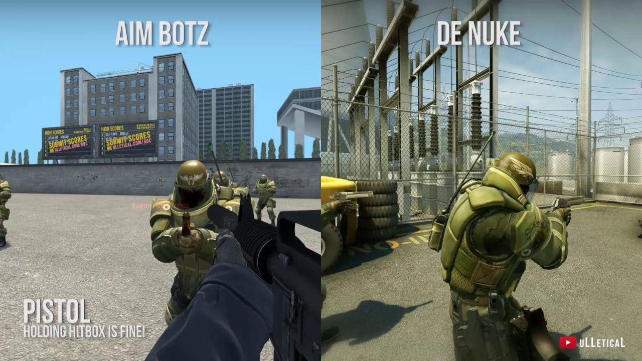Bugged Heavy Hitboxes on all maps not just Aim Botz - Reproducible