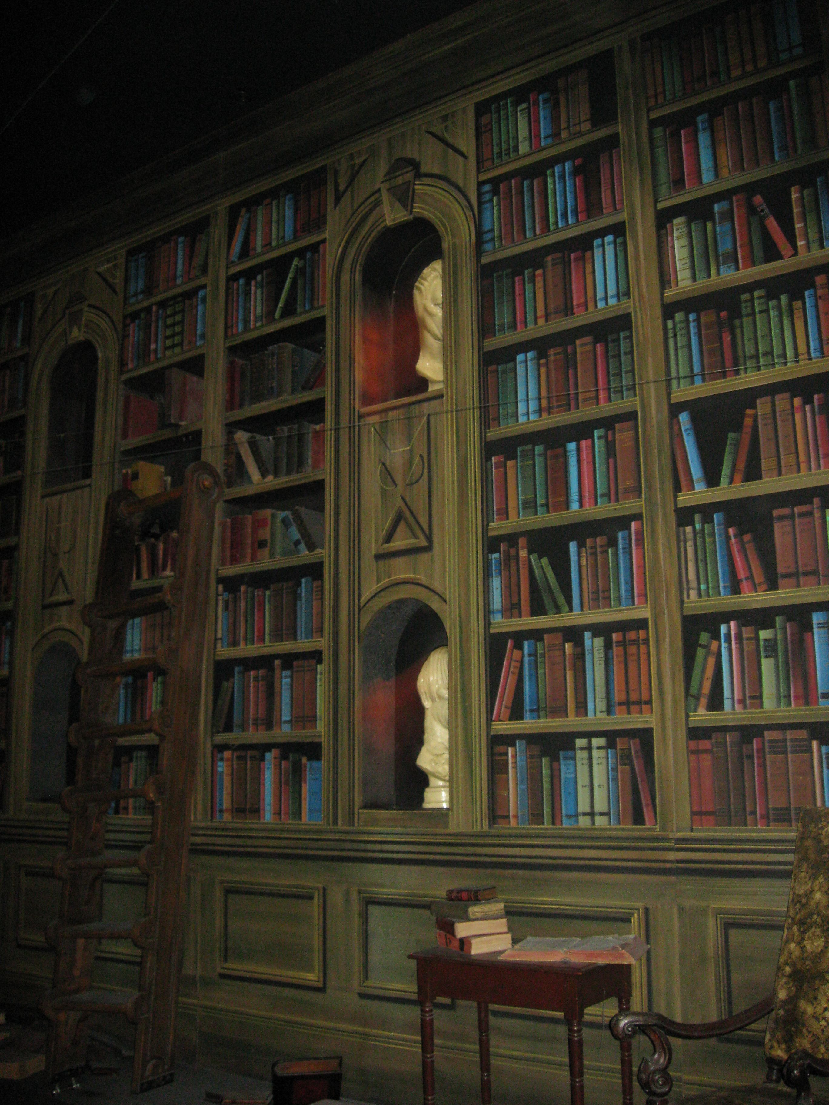 Dream Library Haunted Mansion Disney World