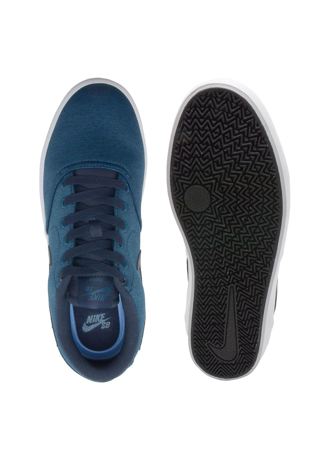 Tenis Nike Sb Check Solar Cnvs Prm Azul Nike Sb Tenis Nike Sb Check Tenis Nike Sb