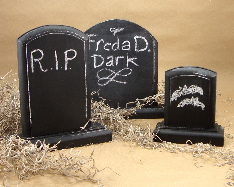 CLEARANCE SALE 50 OFF Halloween Decoration Graveyard Tombstone - halloween decorations for sale