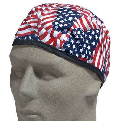 Kromer Caps Usa Made Flag Design Flame Resistant Beanie Sk336 Flame Resistant Beanie Flag Design