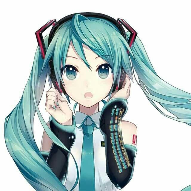 Vocaloid hatsune miku anime anime hatsune miku anime art - Cute anime miku ...