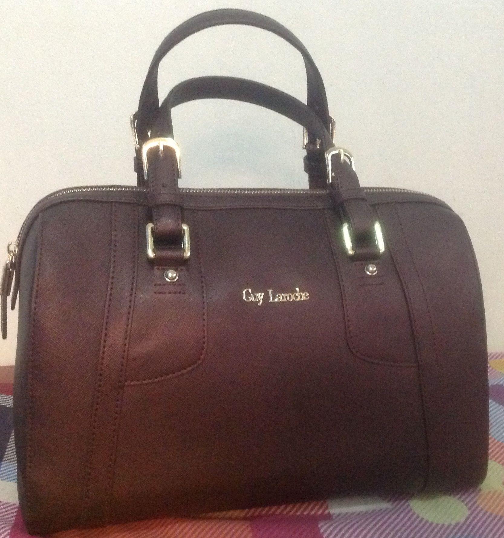 Guy Laroche Saffiano Leather High Fashion Fragrance Haute Couture