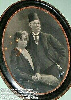 Saad Zaghloul Basha His Wife Safiya Zaghloul Om Elmasreen 1920s سعد زغلول وزوجته صفية زغلول في عشرينيات القرن ال Egypt History Old Egypt Egyptian History