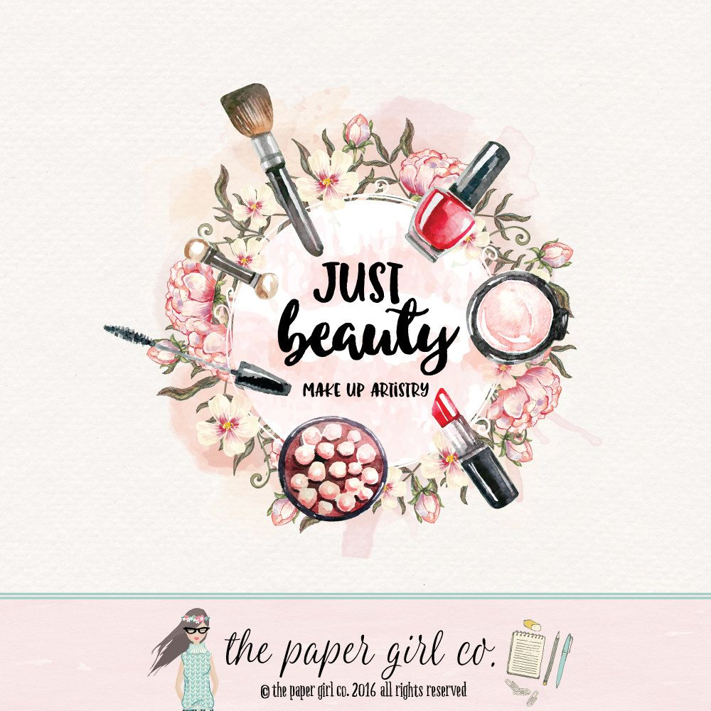 make- logo beauty cosmetics