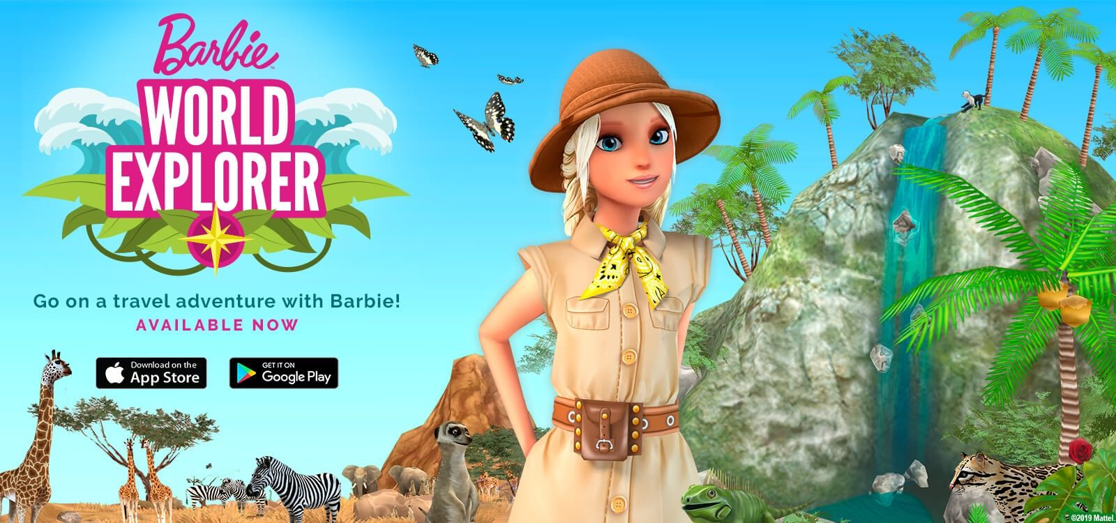 World Explorer Travel App Barbie Toys Barbie Playset