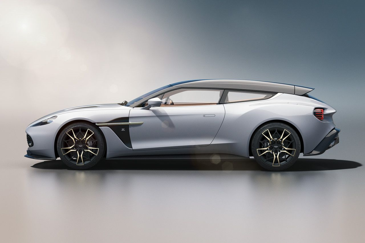 Aston Martin Shares New Images Of Its Vanquish Zagato Shooting Brake Aston Martin Vanquish Aston Martin Shooting Brake