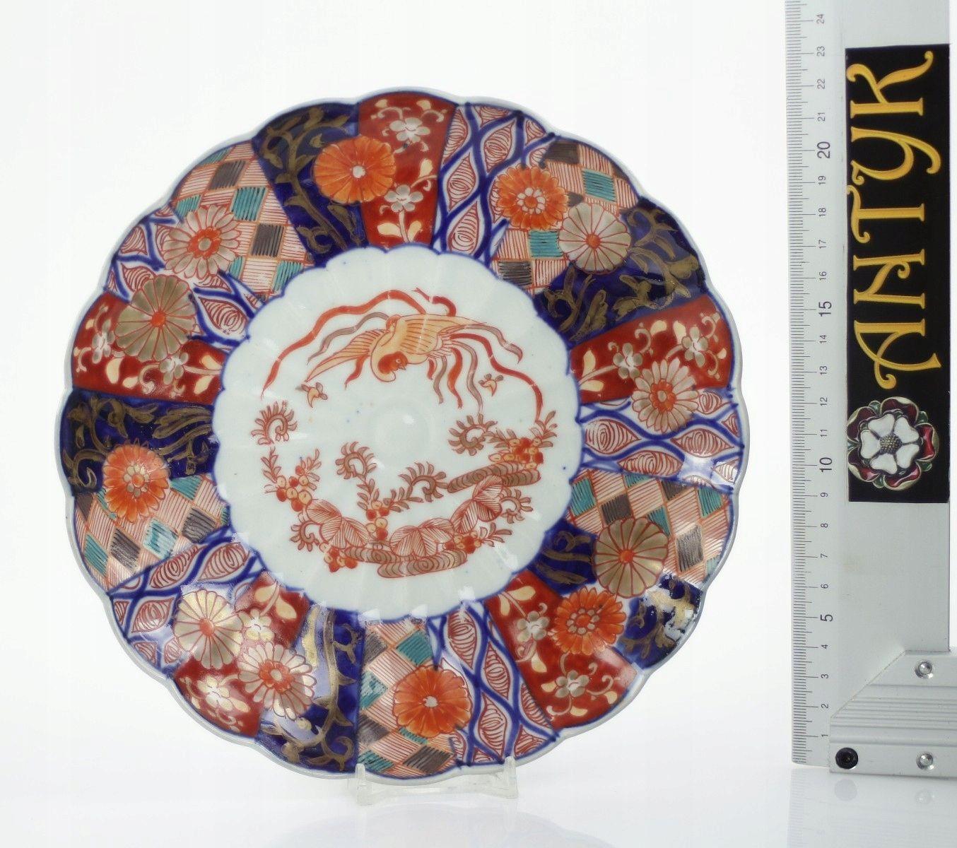 Antyk Talerz Imari Xix W 7518861343 Oficjalne Archiwum Allegro Imari Plates Tableware