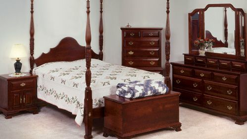 Colonial Style Bedrooms Amish Bedroom Furniture