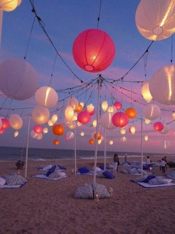 beach lights wedding ideas pinterest bryllup fest and fødselsdag
