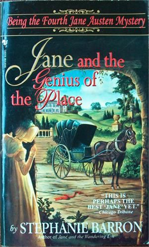 Jane And The Genius Of The Place Jane Austen Mystery Book Mystery