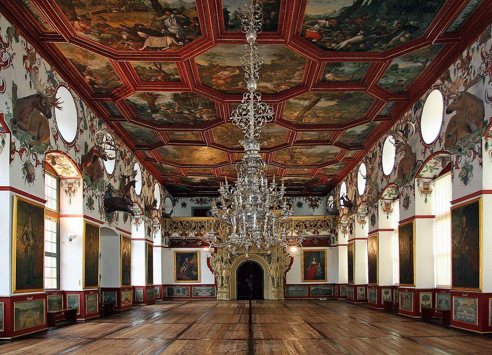 Schloss Weikersheim Architektur Der Renaissance Schloss Burg