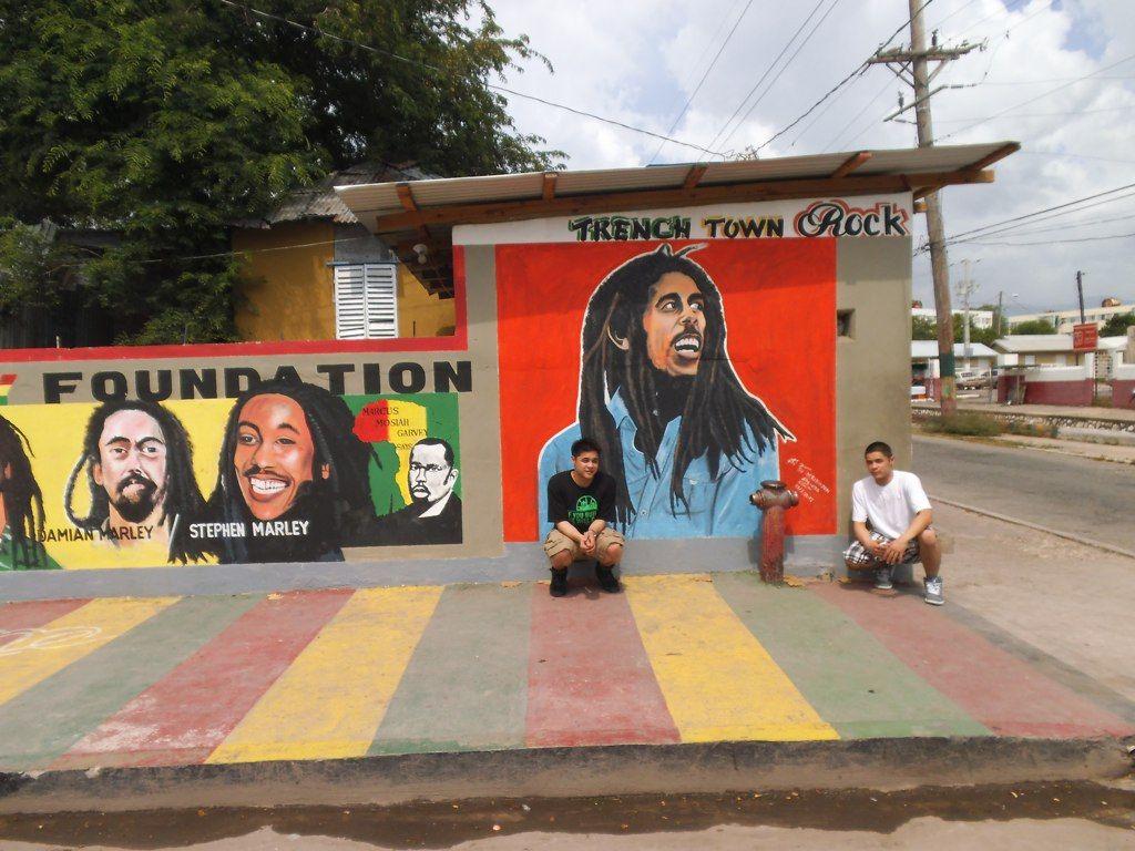 Made by Patricks Ceramics Trench Town Kingston Jamaica