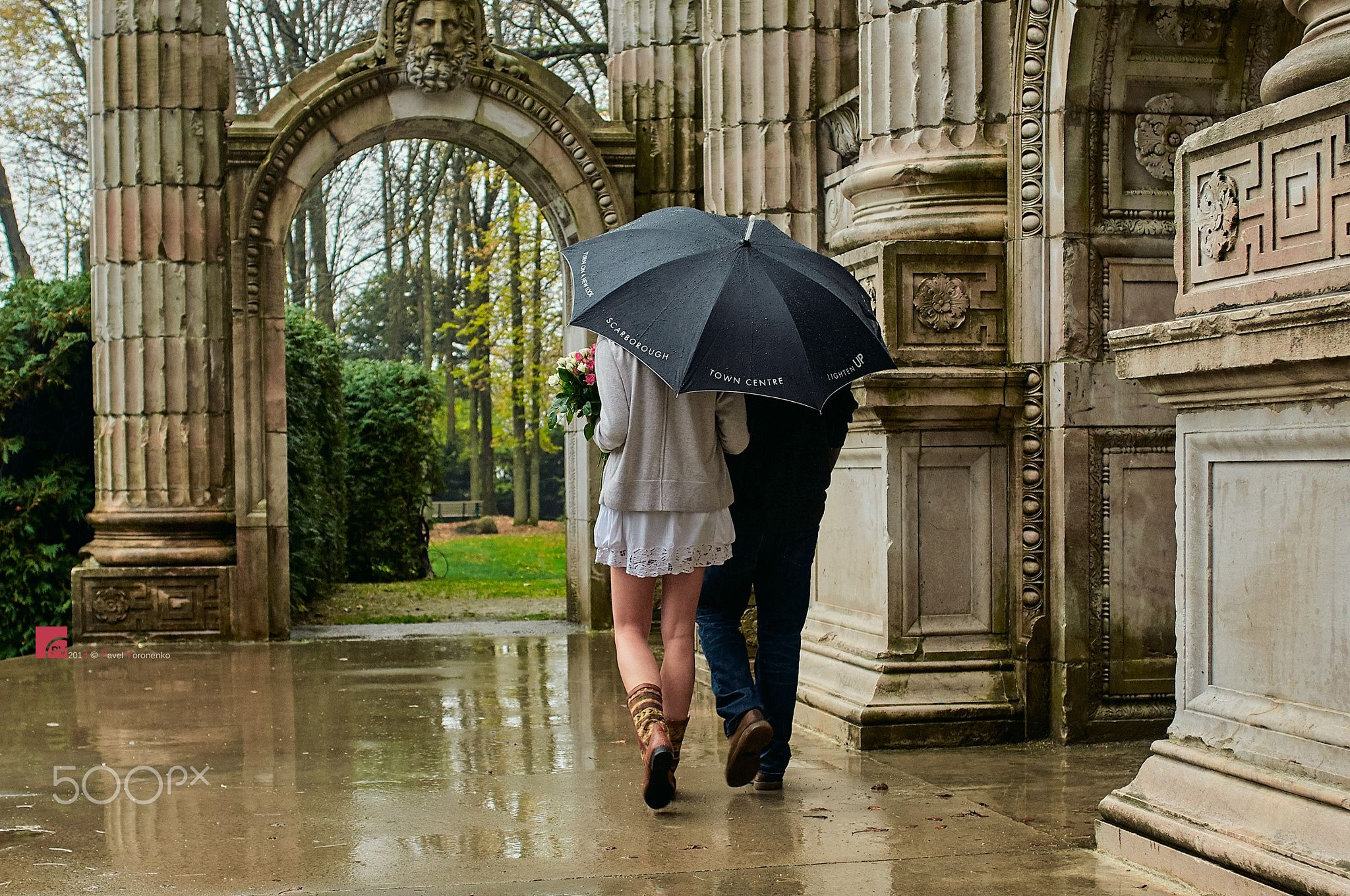 Walking Between The Raindrops With You