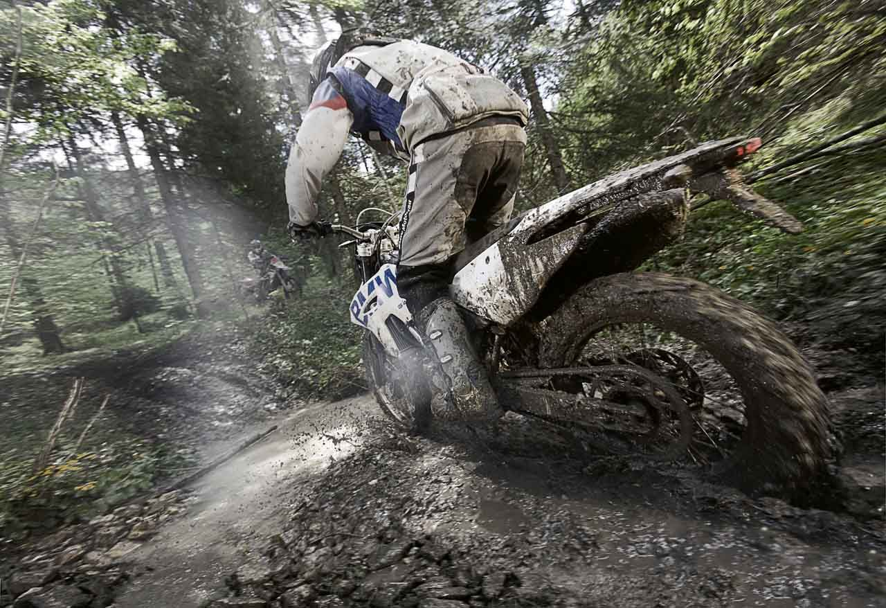 If your bike doesn't come back dirty it means you haven't been doing it right!