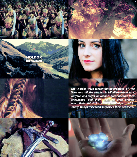 Elven races: Noldor | Lord of the Rings & The Hobbit stars