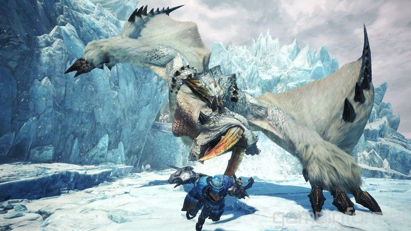 Watch Us Hunt Barioth In Monster Hunter World Iceborne Monster