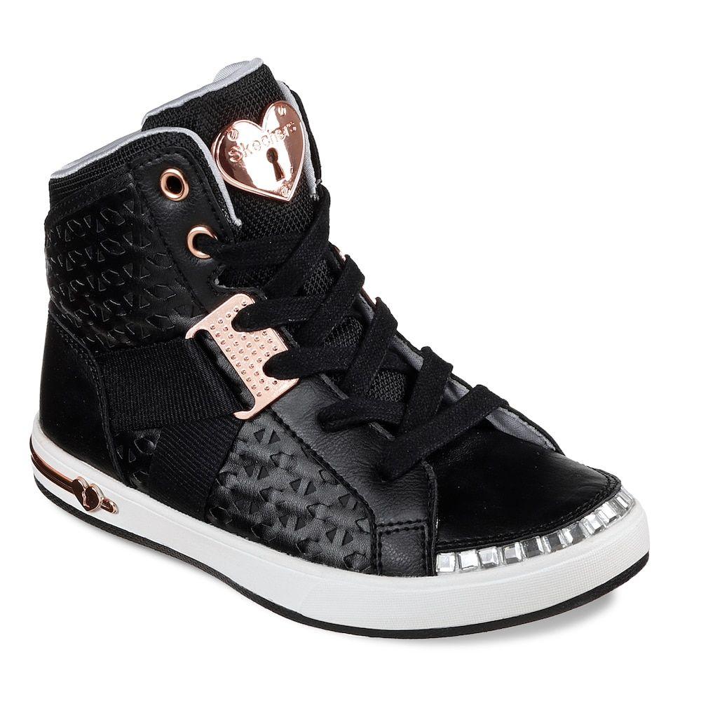 skechers high top sneakers