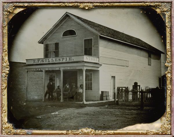 Pony Express Stop And Post Office, Vacaville, California