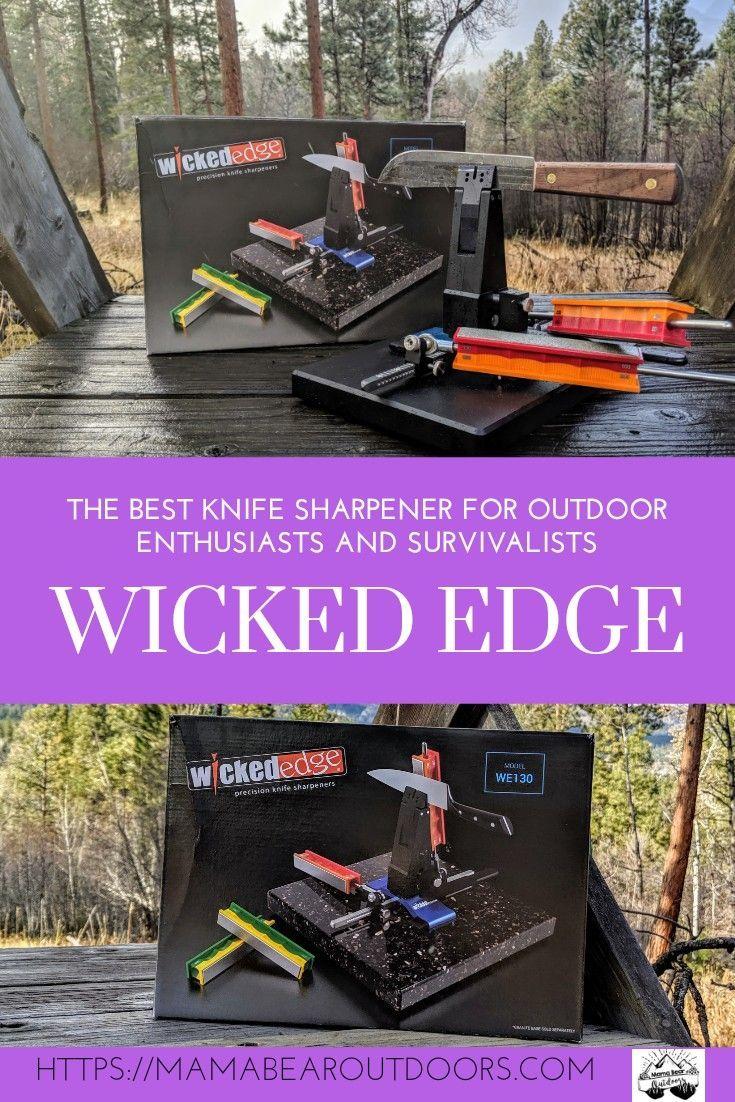 Photo of Wicked Edge Knife Sharpener