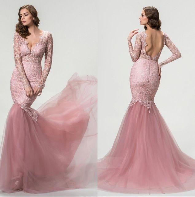 Vestidos de fiesta en color rosa viejo – Vestidos de noche populares ...