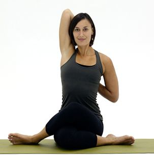 how can you open your hips with yoga  cow face pose hip