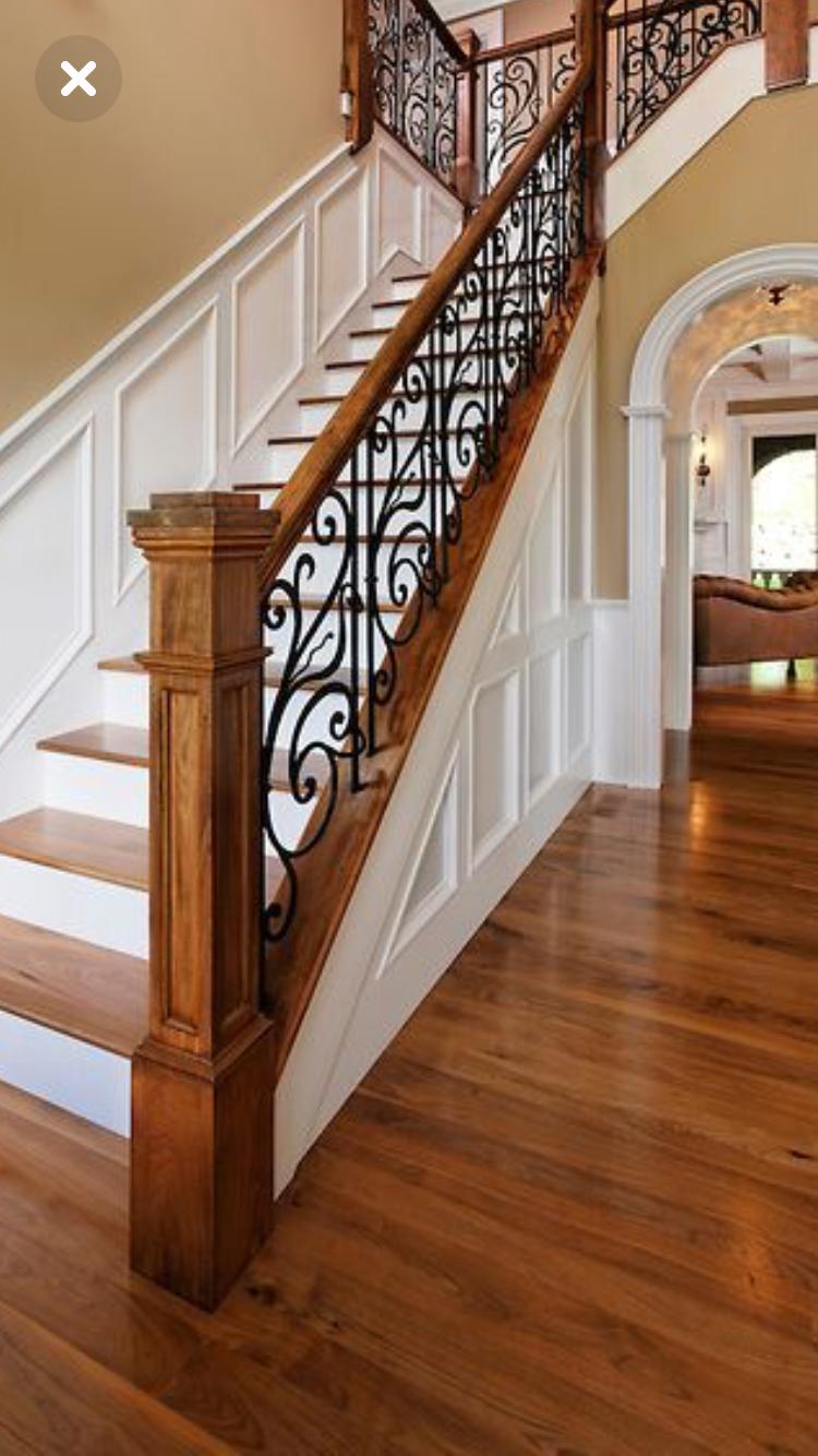 J Aime Bien Le Pilier Rampe Escalier Interieur Rampe Escalier