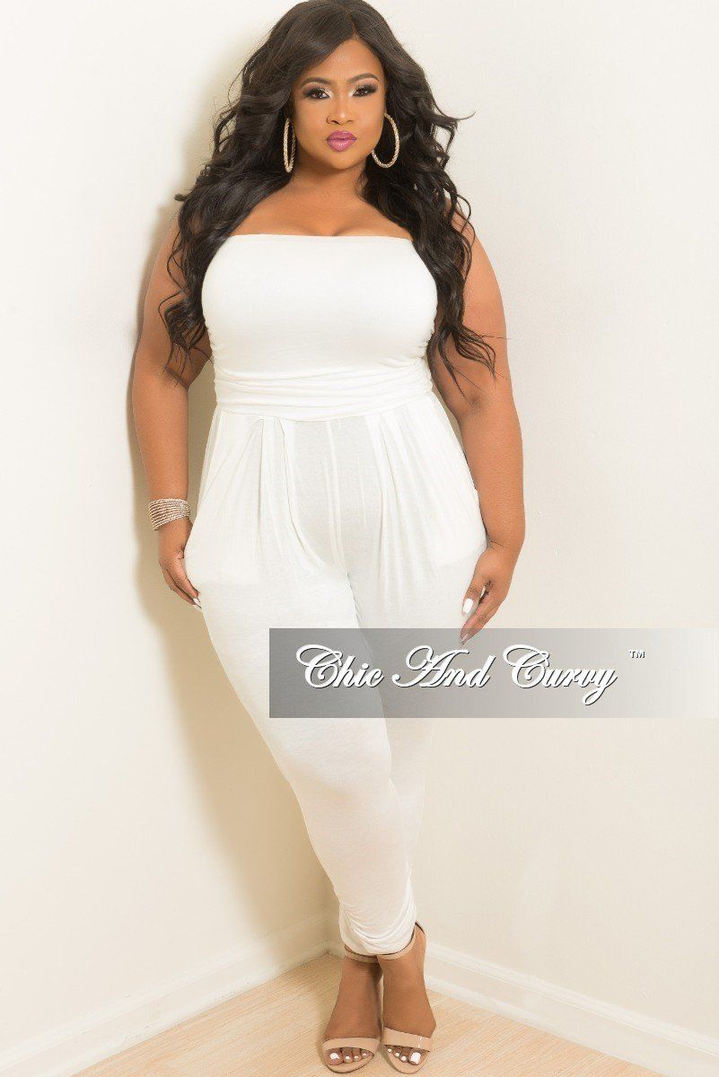 All white plus size attire new orleans