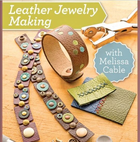 Photo of Leather Jewelry Making: Tips, Basics and Beyond with Leather Jewelry Artist Melissa Cable | Interweave
