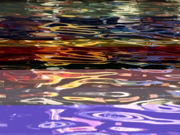 Río San Antonio | Arte y fotografía abstracta
