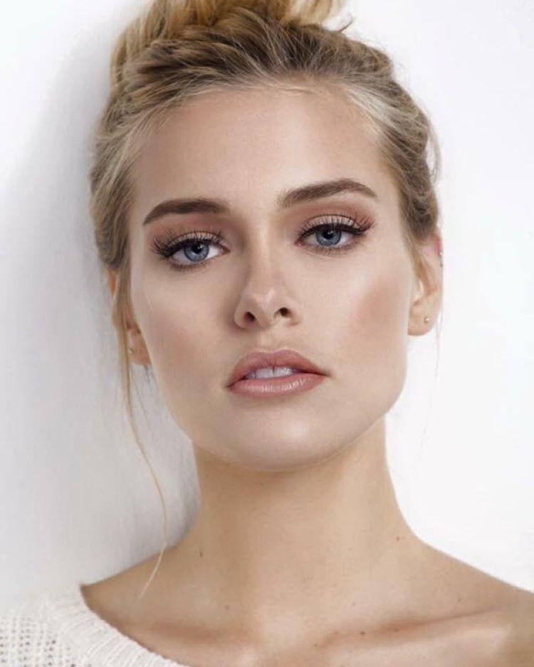 Natürliches braut make up Braut Make Up Braune Augen Natürlich
