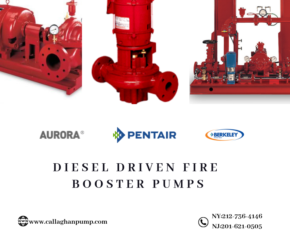 Diesel Driven Fire Booster Pump - Packaged Fire Pump System