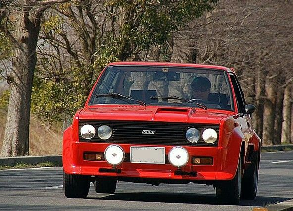 Fiat 131 Abarth Rally Retrorides