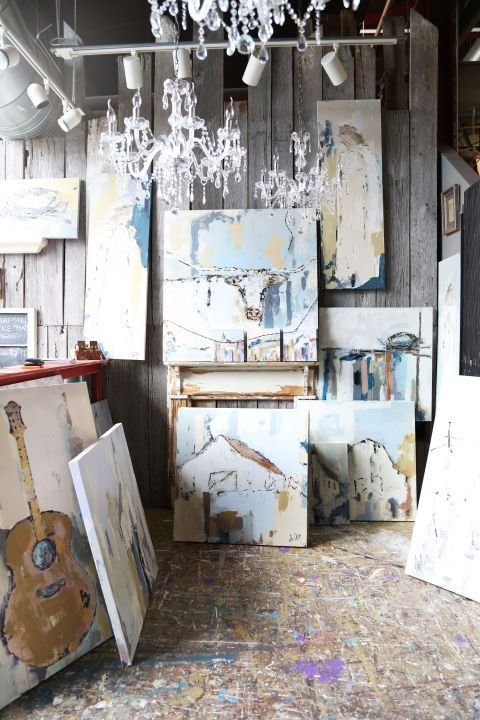 a 125yearold farmhouse filled with southern charm is part of Art studio at home - A 125YearOld Farmhouse Filled With Southern Charm artStudio Aesthetic