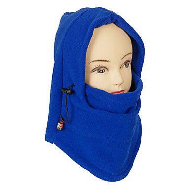 Unisex Outdoor winddicht Blue Polar Fleece Fietsen Mask - EUR € 6.71