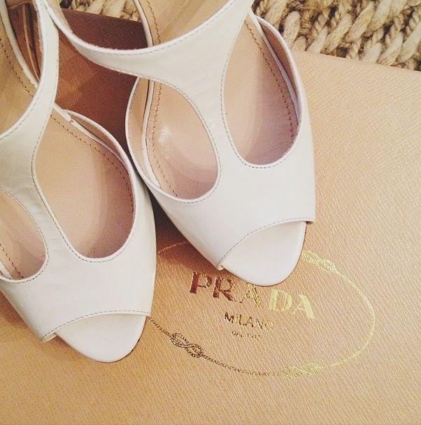 Prada White Heels Wedding Shoes Fashion Shoes Prada
