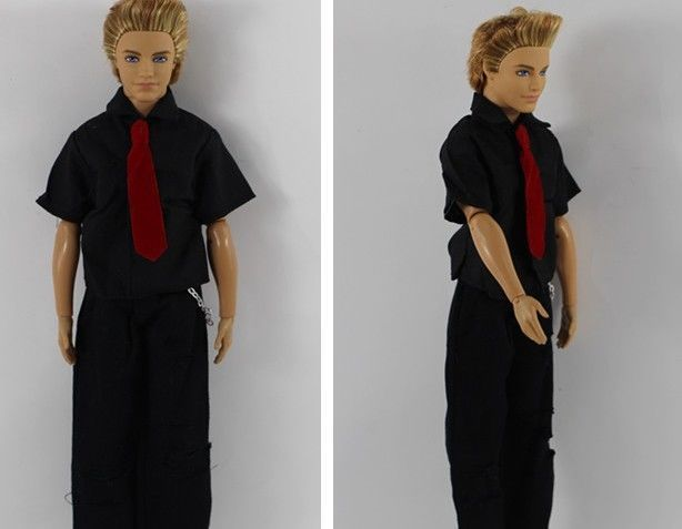 High quality cool Soldier clothes for Barbie boyfriend ken doll party a182