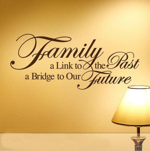 Hot Sale! DIY Quote Removable Wall Sticker Decal Mural Room Home