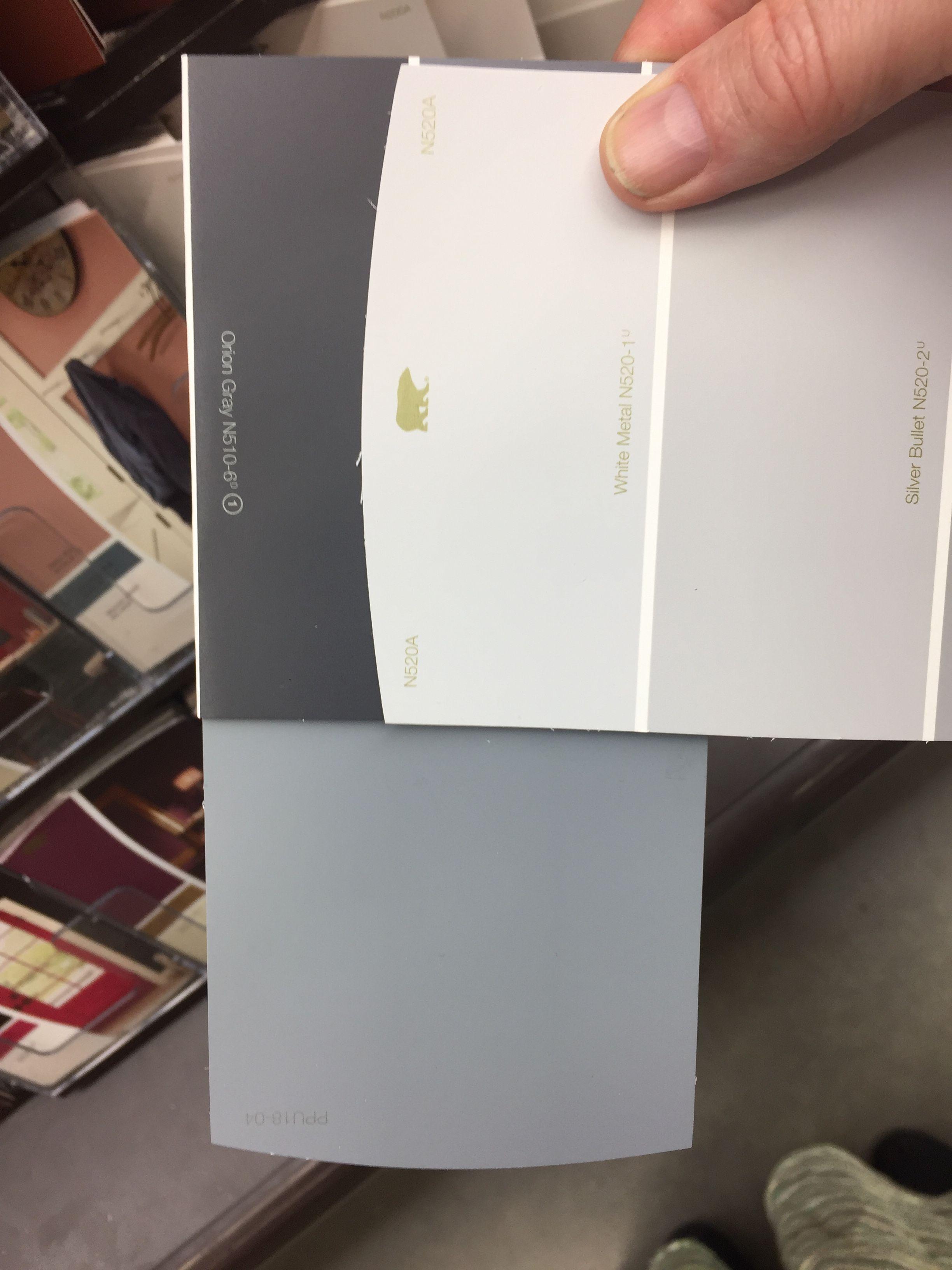 Upstairs Colors Painted Floors White Metal Behr Paint