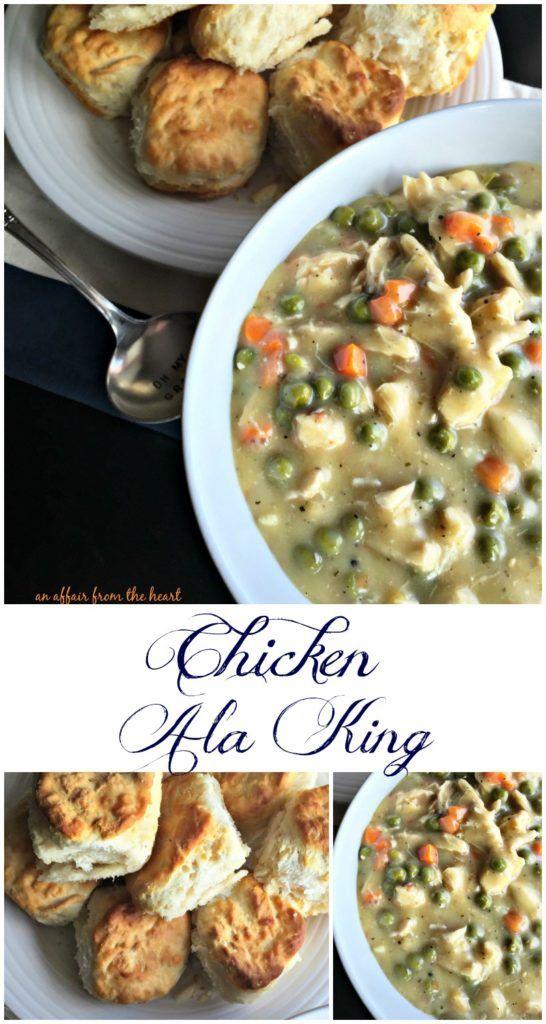 Chicken ala king recipe turkey ala king chicken ala king and chicken ala king forumfinder Images