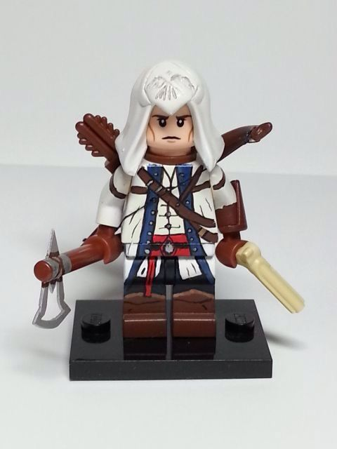 Custom Assassin S Creed Minifigure Lego Custom Minifigures Cool